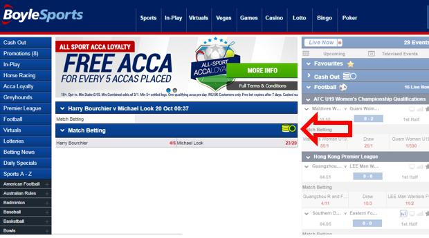 Boylesports football betting rules baseball relegation betting odds checker